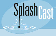 SplashCast old school logo